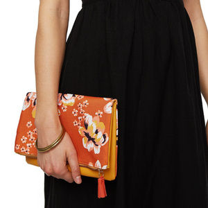 RACHEL PALLY ZAHARA reversible clutch flap bag